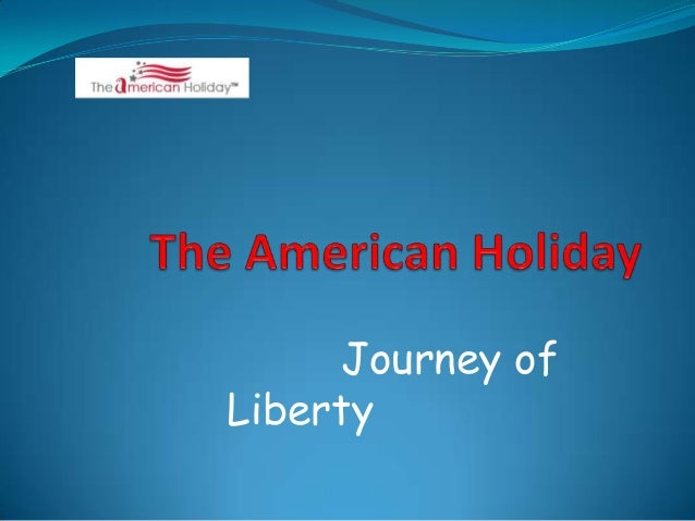 The american holiday 2