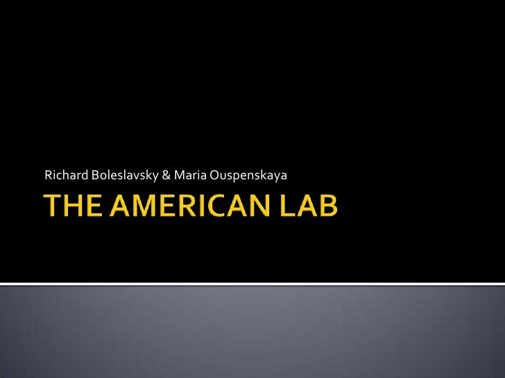 The American Lab