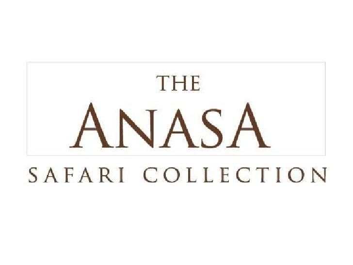 The Anasa Safari Collection is the manifestation of GeorgeMavroudis' love of Tanzania. Having lived in Tanzania his entire...