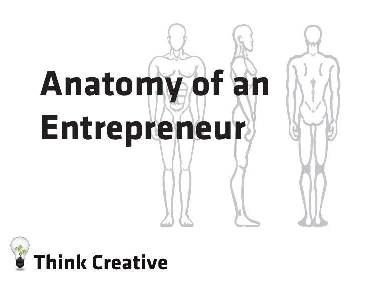 Anatomy of anEntrepreneur