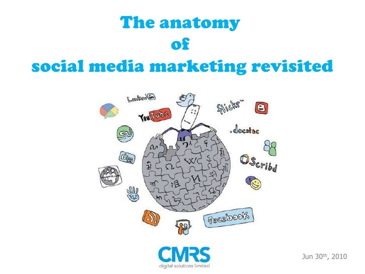 eCMO 2010 The anatomy of social media marketing revisited