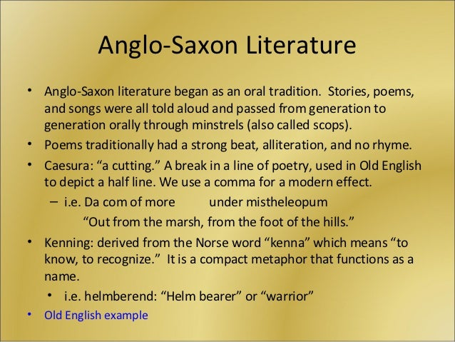 an analysis of the pagan elements in beowulf an anglo saxon poem How to write literary analysis suggested essay topics sample a+ essay how to cite this sparknote while beowulf's pagan warrior culture seems not to have a concept of the afterlife over the course of the poem, beowulf matures from a valiant combatant into a wise leader.
