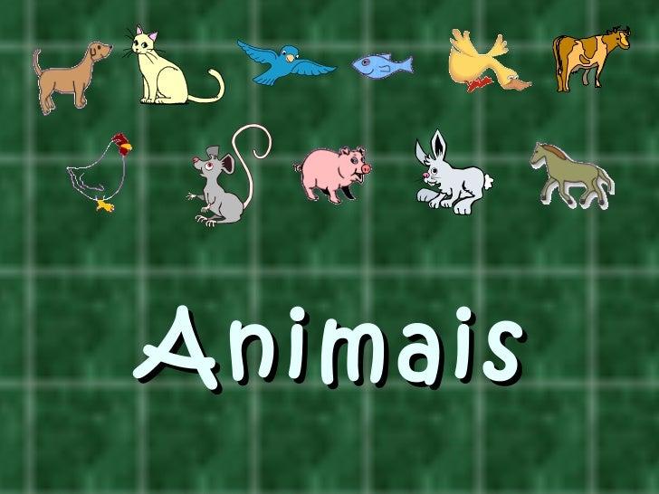Os animais e os seus sons
