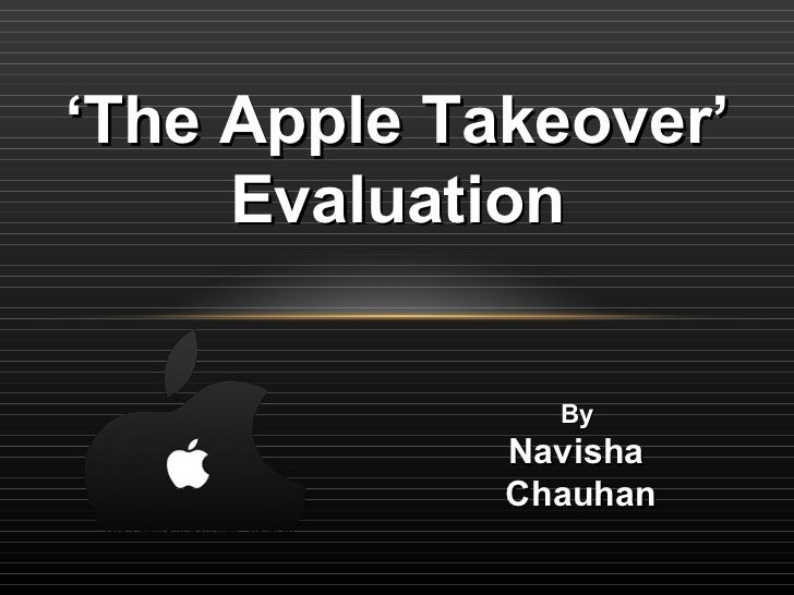 The apple takeover documentary