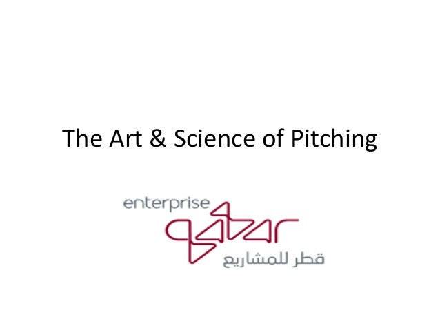 The art and science of pitching 6