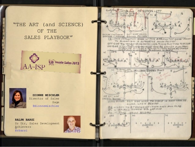 The Art (and Science) of Sales Playbooks