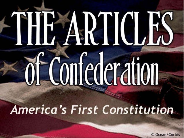 the articles of the confederation and the constitution The constitution vs the articles of confederation table of contents no headers  this prompt is only available in revision assistant itself teachers, to view this.
