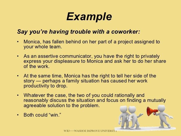 9 Helpful Assertive Communication Examples