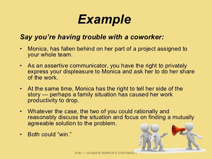 teamwork situations examples