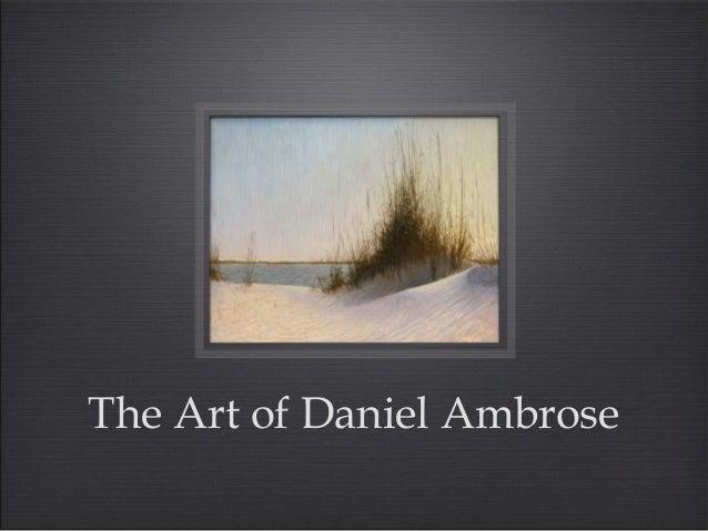 The Art of Daniel Ambrose
