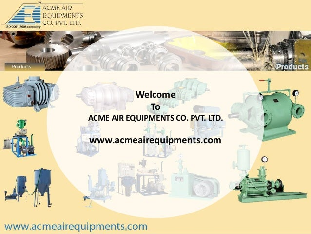 The art of designing blower components for engineering industries by www.acmeairequipments.com