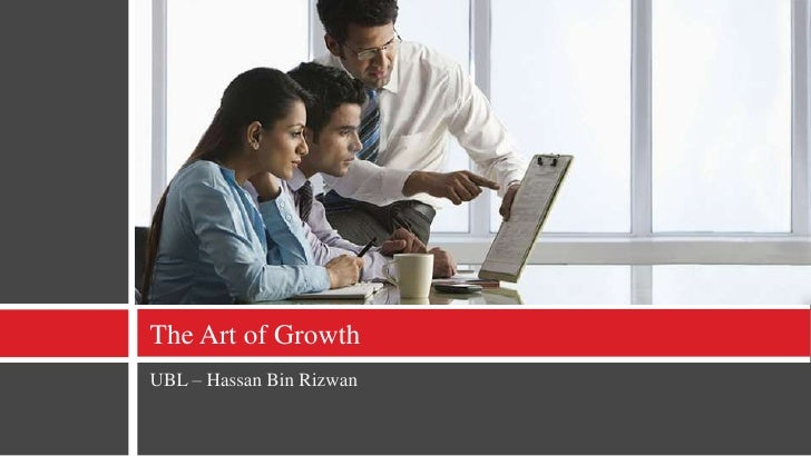 The Art of Growth - Presentation
