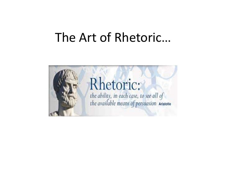 The art of_rhetoric