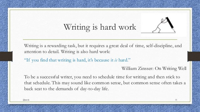 Essays on hard work