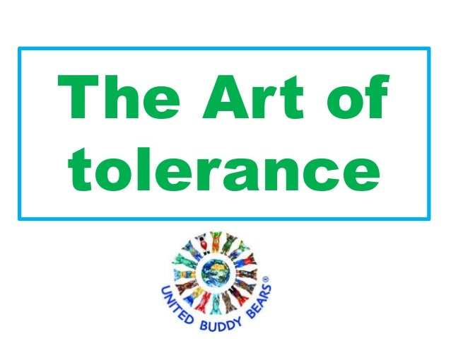 "Buddy bears ""the art of the tolerance""for kids"
