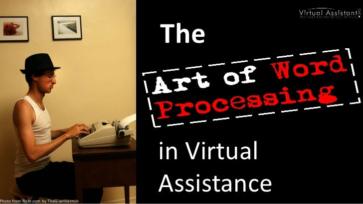 The Art of Word Processing
