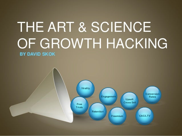 THE ART & SCIENCE OF GROWTH HACKING Upsell/ Cross Sell CAC/LTV Virality Engagement Retention Freemium Conversion Rates BY ...