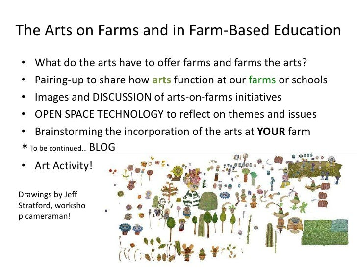 The Arts on the Farms Workshop