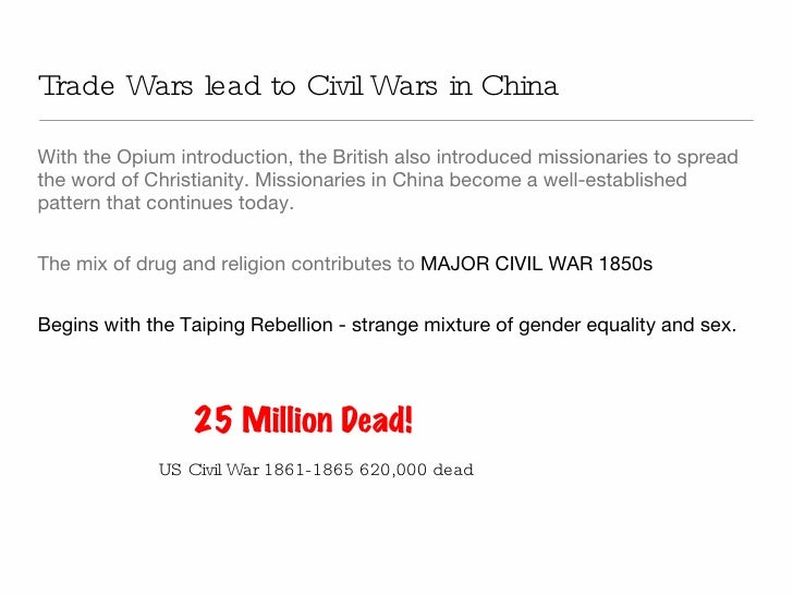 an analysis of the opium war as the most humiliating defeat china ever suffered The opium war, also called the anglo-chinese war, was the most humiliating defeat china ever suffered in european history, it is perhaps the most sordid, base, and vicious event in european history, possibly, just possibly, overshadowed by the excesses of the third reich in the twentieth century.