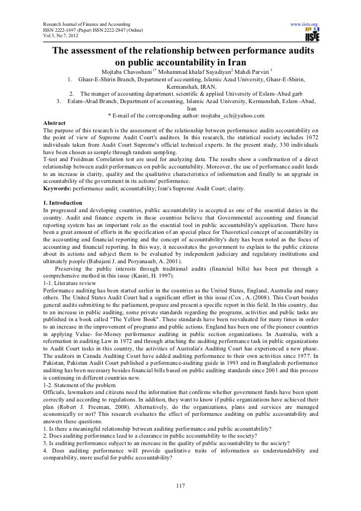 Research Journal of Finance and Accounting                                                                www.iiste.orgISS...