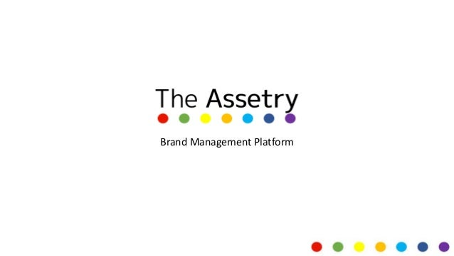 Brand Management for assets and rights
