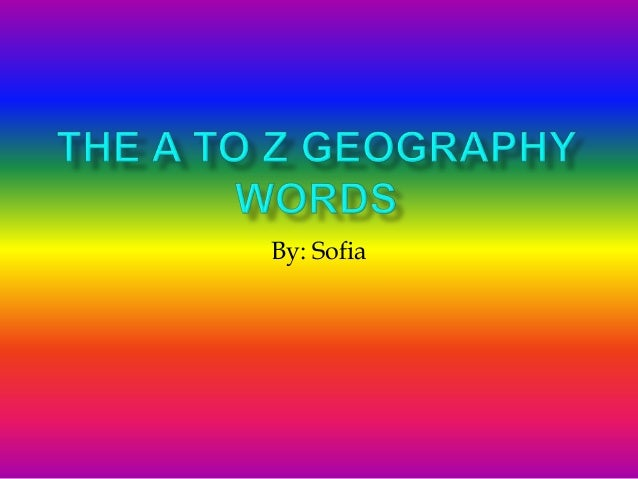 Geography other words for additional