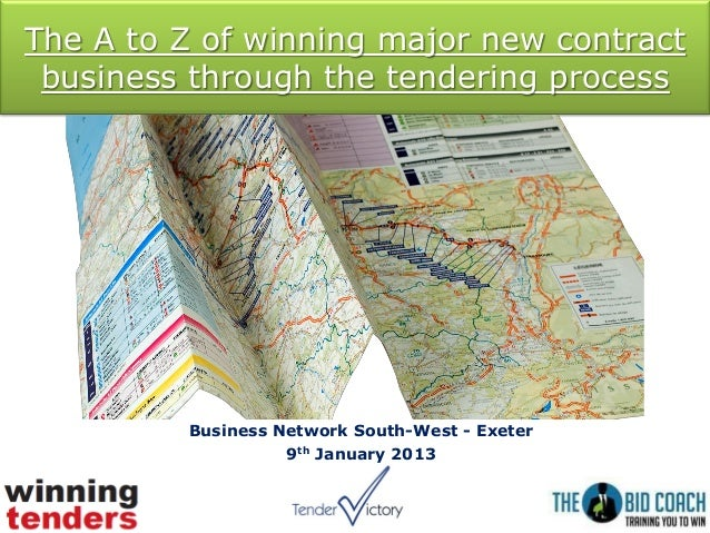 The a to z of winning major new contract business