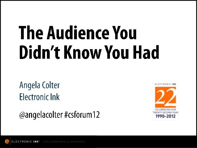 The audience you didn't know you had