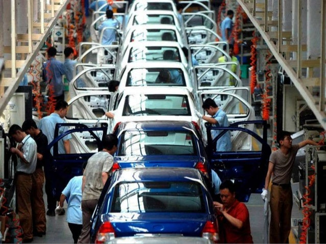The automobile industry by Sumit Jaiswal