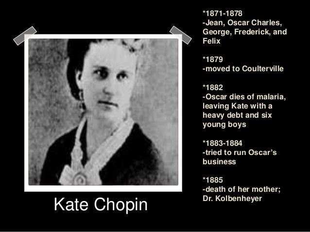 an analysis of kate chopins awakening Free essay: in the novel the awakening, kate chopin (2005) uses deep symbolism to show how the main character, edna pontellier, discovers her own.