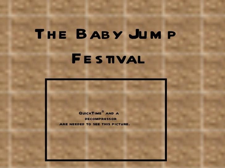 The Baby Jump Festival