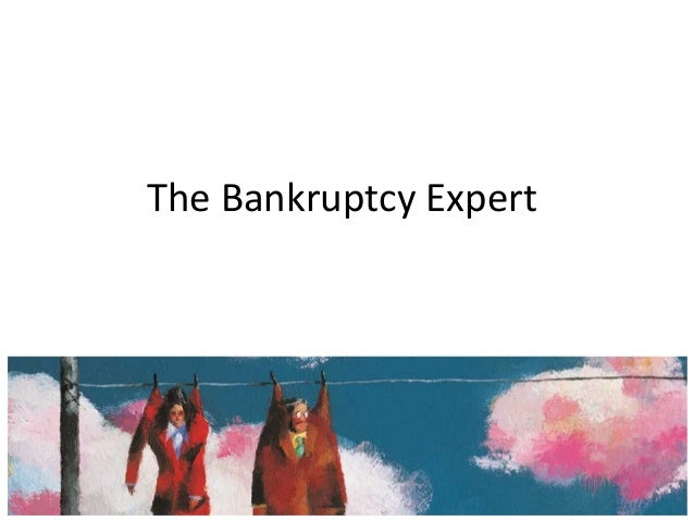 The Bankruptcy Expert