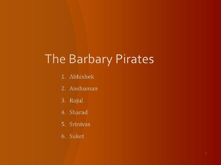 The Barbary Pirates Ver3