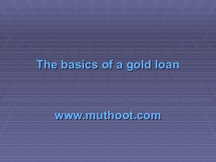 Gold Loan | Auto Loans | Gold Coins :: Muthoot Fincorp Ltd
