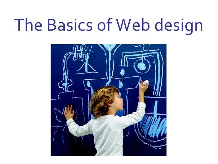 The Basics of Web design