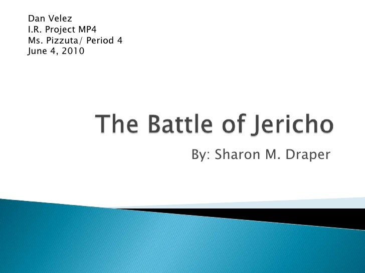 The battle of jericho mp4 ir project