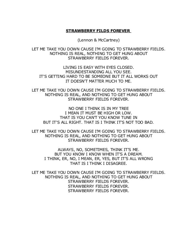letras de la cancion let it be: