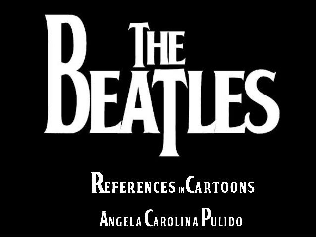 THE BEATLES References in Cartoons