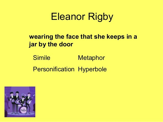 analysis of eleanor rigby Eleanor rigby by the beatles song meaning, lyric interpretation, video and chart position.