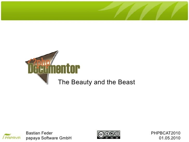 The beautyandthebeast phpbat2010