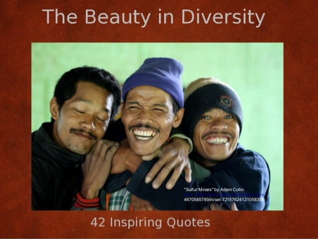 The Beauty in Diversity