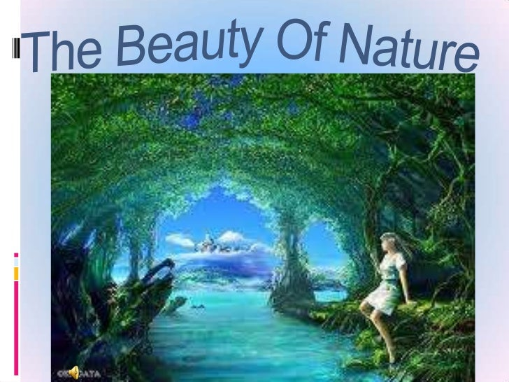 Living with nature. What does it mean to  you?