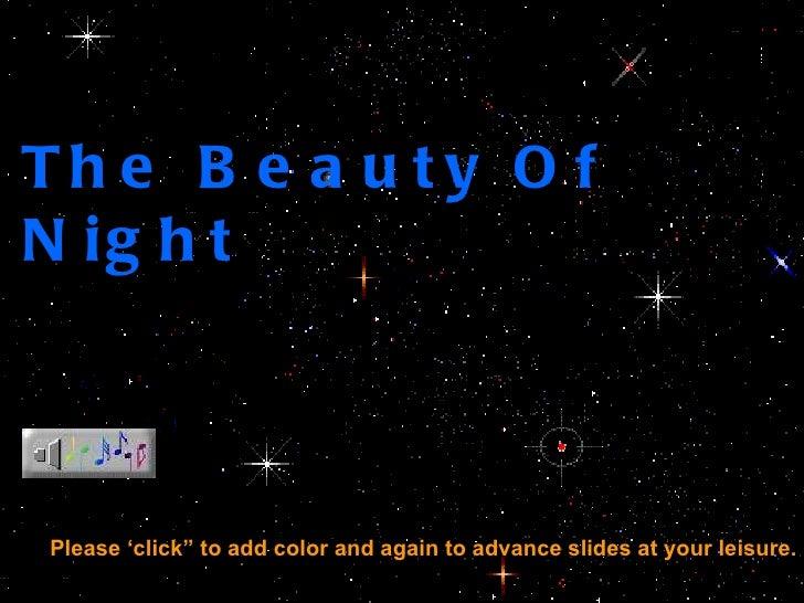 The beautyofnight
