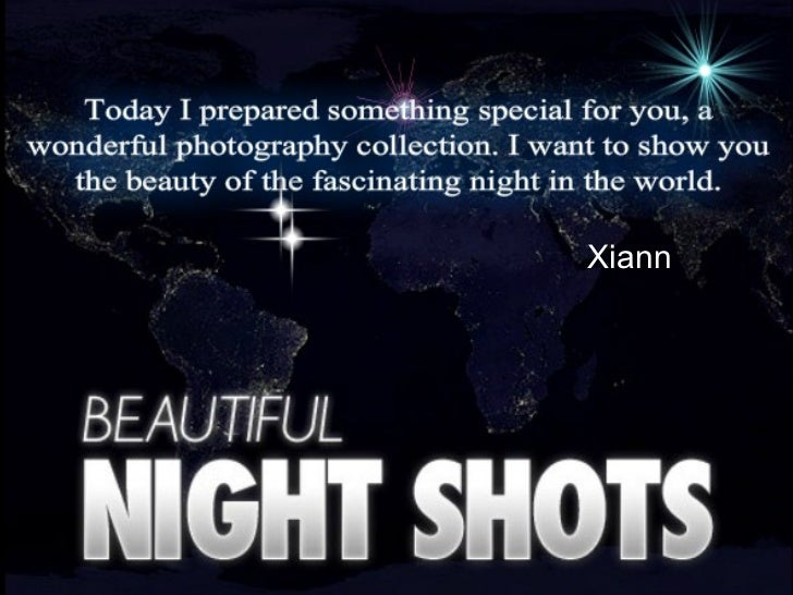 The Beauty Of The Night