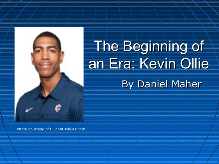 The Beginning of                                     an Era: Kevin Ollie                                          By Danie...