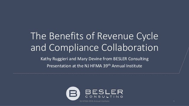 Collaborative Teaching Benefits : The benefits of revenue cycle and compliance collaboration
