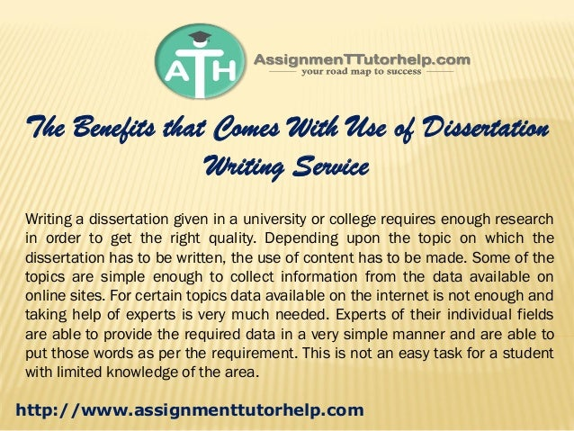 Content Of Dissertation