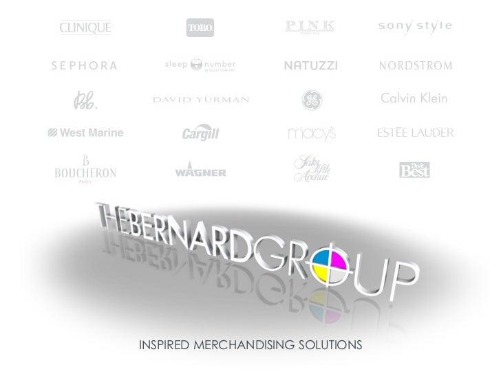 The Bernard Group, Graphics, Displays, Fixtures, For Retail, Ac