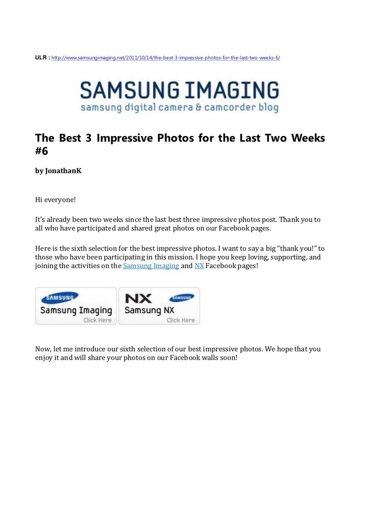 ULR : http://www.samsungimaging.net/2011/10/14/the-best-3-impressive-photos-for-the-last-two-weeks-6/The Best 3 Impressive...