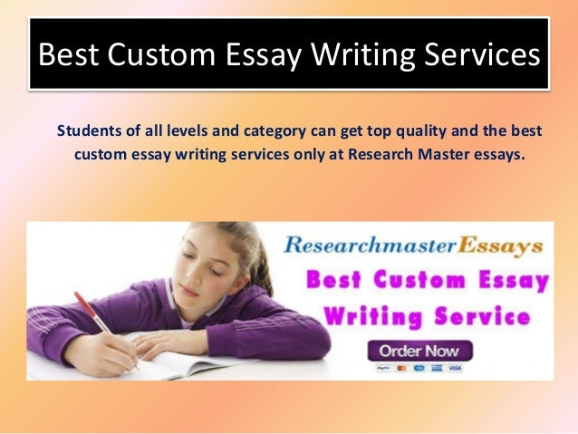 The best custom writing service